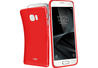 SBS-MOBILE Extra-Slim Galaxy S7 Handyhülle, Rot
