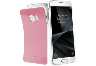 SBS-MOBILE Extraslim Color Galaxy S7 Handyhülle, Pink