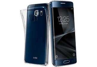 SBS-MOBILE Aero Extraslim Galaxy S7 edge Handyhülle, Transparent