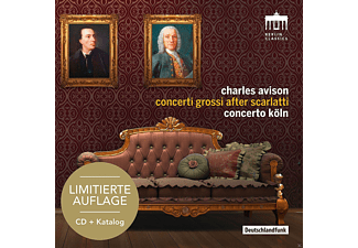 Concerto Köln - Concerti Grossi After Scarlatti-Sonderedition - (CD)
