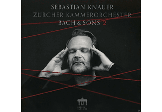 Sebastian Knauer, Daniel Hope, Philipp Jundt, Zürcher Kammerorchester - Bach & Sons 2 - (CD)