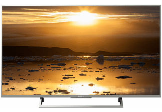 SONY KD-43XE8077, 108 cm (43 Zoll), UHD 4K, SMART TV, LED TV, 400 Hz, DVB-T2 HD, DVB-C, DVB-S, DVB-S2