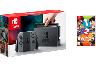NINTENDO Switch - Grå (inkl 1,2 Switch)