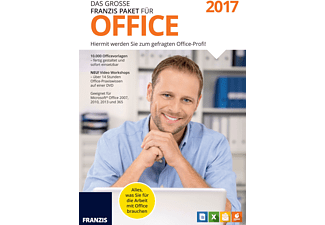 das gro e franzis paket f r office 2017 office programme. Black Bedroom Furniture Sets. Home Design Ideas