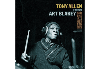 Tony Allen - A Tribute To Art Blakey - (Vinyl)