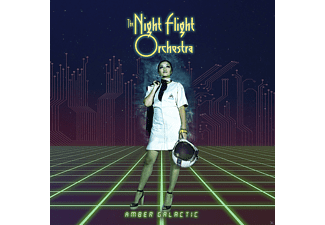 The Night Flight Orchestra - Amber Galactic - (Vinyl)
