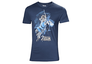 Zelda Breath of the Wild - Link mit Pfeil - T-Shirt - XL