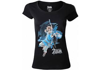 Zelda Breath of the Wild - Link - T-Shirt (Damen) - XL