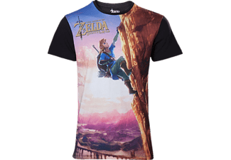 Zelda Breath of the Wild - Link Climbing - T-Shirt - XL