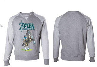 Zelda Breath of the Wild - Link - XL