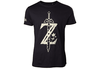 Zelda Breath of the Wild - Z mit Schwer - T-Shirt - S