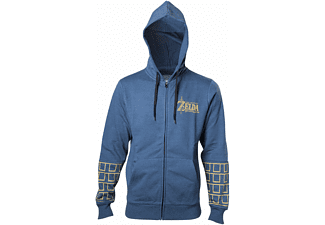 Zelda Breath of the Wild Hoodie - Gold Game Logo - S