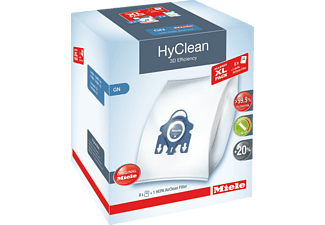MIELE Allergy HyClean 3D Efficiency GN, 8 Staubbeutel, 2 Motorschutzfilter, 1 HEPA Filter HA50