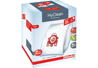 MIELE Allergy HyClean 3D Efficiency FJM, 8 Staubbeutel, 2 Motorschutzfilter, 1 HEPA Filter HA50