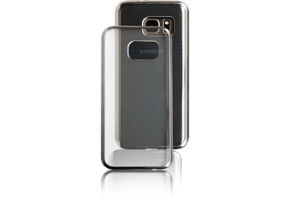 SPADA Electro-Style Soft, Backcover, Samsung, Galaxy S8+, Silber