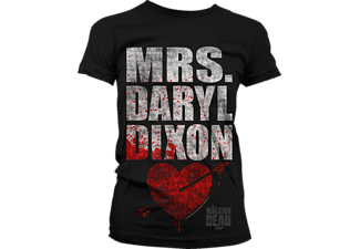 The Walking Dead Girlie Shirt Mrs.Daryl Dixon sch