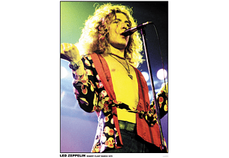 Led Zeppelin Poster Robert Plant,March 1975