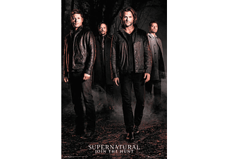 Supernatural Poster Season 12 Dean,Sam,Crowley &