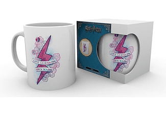 Harry Potter Tasse Love Leaves its own Mark weiß,