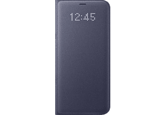 SAMSUNG LED View Cover Galaxy S8+ Handyhülle, Orchid-Grey