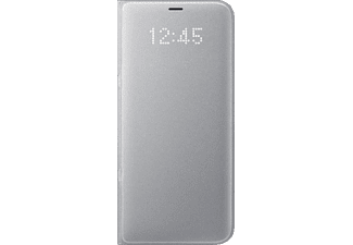 SAMSUNG LED View Cover Galaxy S8+ Handyhülle, Silber