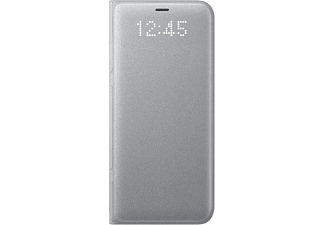 SAMSUNG LED View Cover, Bookcover, Samsung, Galaxy S8, Silber
