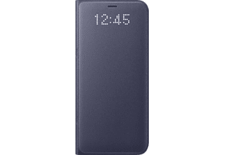 SAMSUNG LED View Cover Galaxy S8 Handyhülle, Orchid-Grey