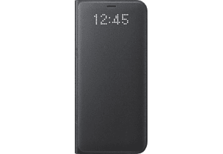 SAMSUNG LED View Cover Galaxy S8 Handyhülle, Schwarz