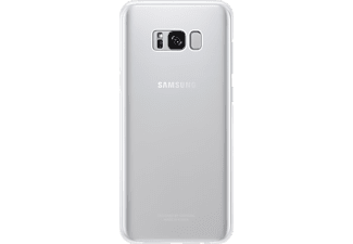 SAMSUNG Clear Cover Galaxy S8+ Handyhülle, Silber