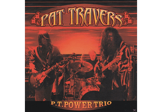 Pat Travers - P.T. Power Trio - (CD)