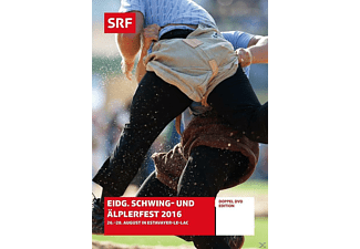 Eidg.Schwing-und Äplerfest 2016 - 26.-28. August in Estavayer-Le-Lac - (DVD)