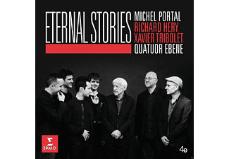 Quatuor Ébène, Michel Portal, Richard Héry, Xavier Tribolet - Eternal Stories - (CD)