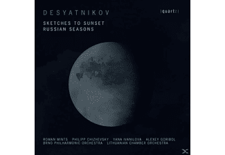 Leonid Desyatnikov - SKETCHES TO SUNSET & RUSSIAN SEASONS - (CD)