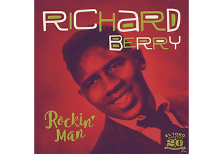 Richard Berry - Rockin' Man EP - (Vinyl)