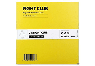 The Dust Brothers - Fight Club (180g 2LP/Black Vinyl European Version) - (Vinyl)