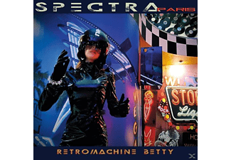 Spectra Paris - Retromachine Betty - (CD)