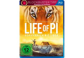 Life of Pi: Schiffbruch mit Tiger - Pro 7 Blockbuster Abenteuer Blu-ray