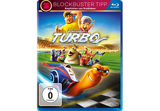 Turbo - Kleine Schnecke, großer Traum - (Blu-ray)