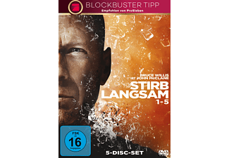 Stirb langsam 1-5 - (DVD)