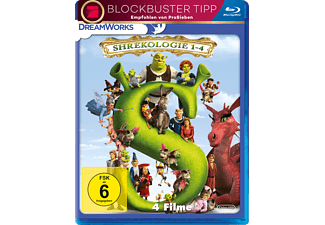 Shrek 1-4 - (Blu-ray)
