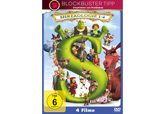 Shrek 1-4 - (DVD)