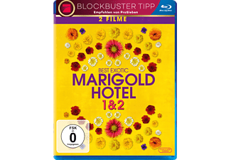 Best Exotic Marigold Hotel 1 & 2 - (Blu-ray)