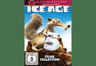 Ice Age 1-5 - (DVD)