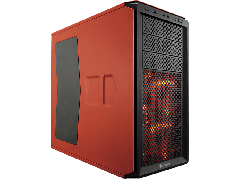 CORSAIR Graphite Series 230T Windowed Compact Mid-Tower Rebel Orange laptop  tablet  computing  αναβάθμιση υπολογιστή κουτιά η υ