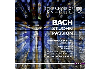 Choir of King's Consor, Gilchrist, Bevan,S., Cleobury - Johannespassion - (SACD Hybrid)