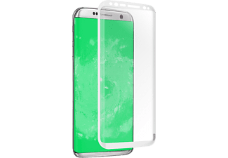 SBS MOBILE Screen Protector Glass för Galaxy S8 - Vit
