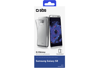 SBS MOBILE Skinny Cover för Galaxy S8 - Transparent