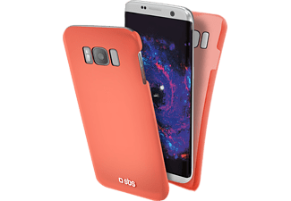 SBS MOBILE ColorFeel Cover för Galaxy S8 - Rosa