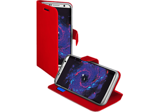 SBS MOBILE Book Case för Galaxy S8 - Röd
