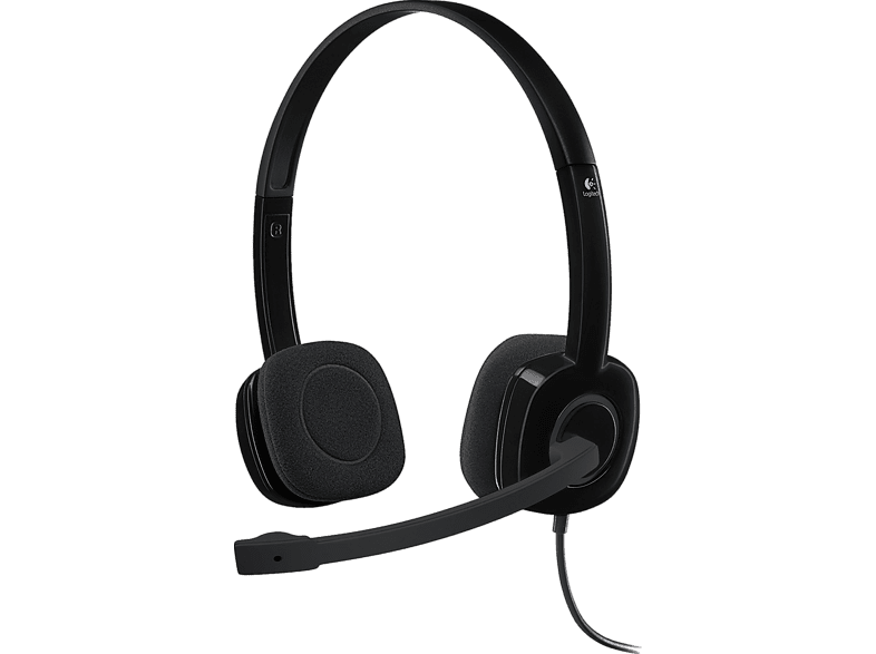 LOGITECH Stereo Headset H151 - (981-000589) laptop  tablet  computing  περιφερειακά headset